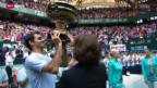 Video «Tennis: So lief es Federer 2013» abspielen
