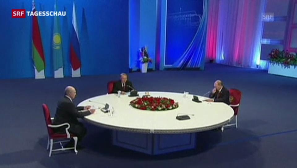 Gründung der Eurasischen Wirtschaftsunion