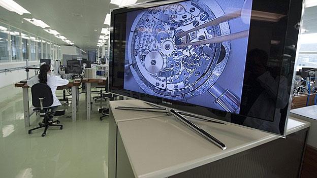 Mehr Stellen in der Uhrenindustrie freut den Kanton Solothurn (Barbara Meyer, 22.05.2013)