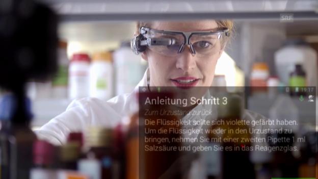 Video ««Einstein» entdeckt die digitale Arbeitswelt» abspielen