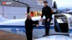 Video «Ammann mit der Lizenz zum Fliegen» abspielen