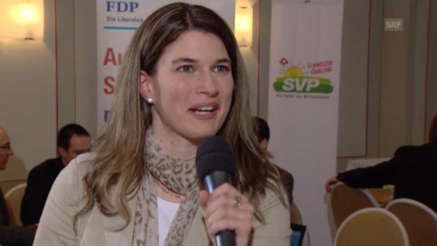 Video «Nadja Pieren über den Sieg beim Familienartikel» abspielen