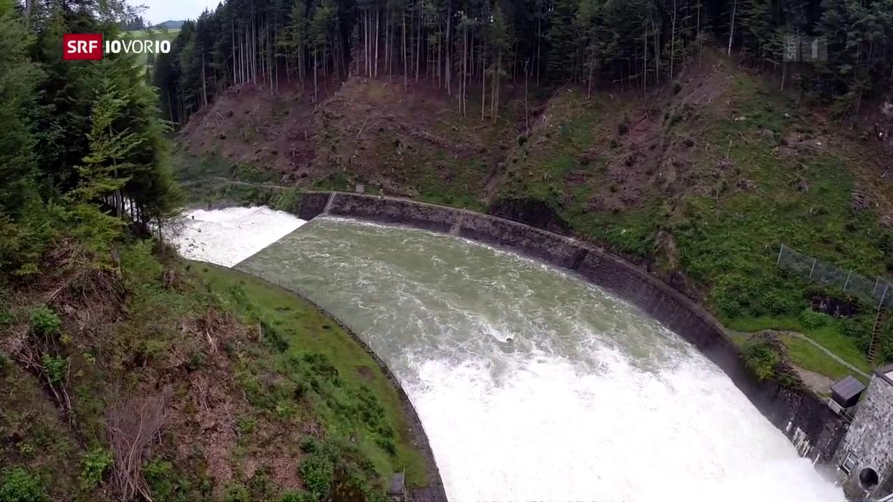 Neue Subventionen für Wasserkraftwerke