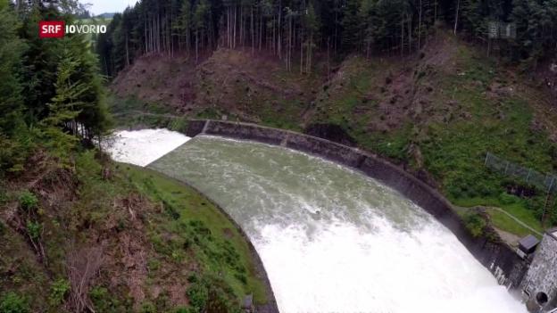Video «Neue Subventionen für Wasserkraftwerke» abspielen