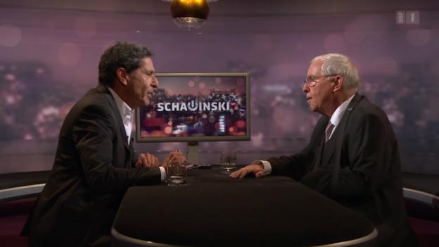 Video «Blocher zu den Bundesratswahlen» abspielen