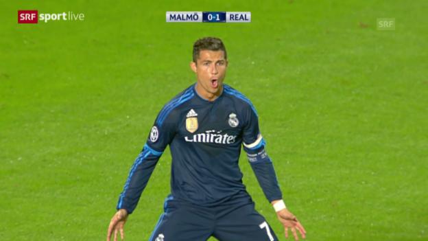 Video «Fussball: CL, Malmö - Real Madrid» abspielen