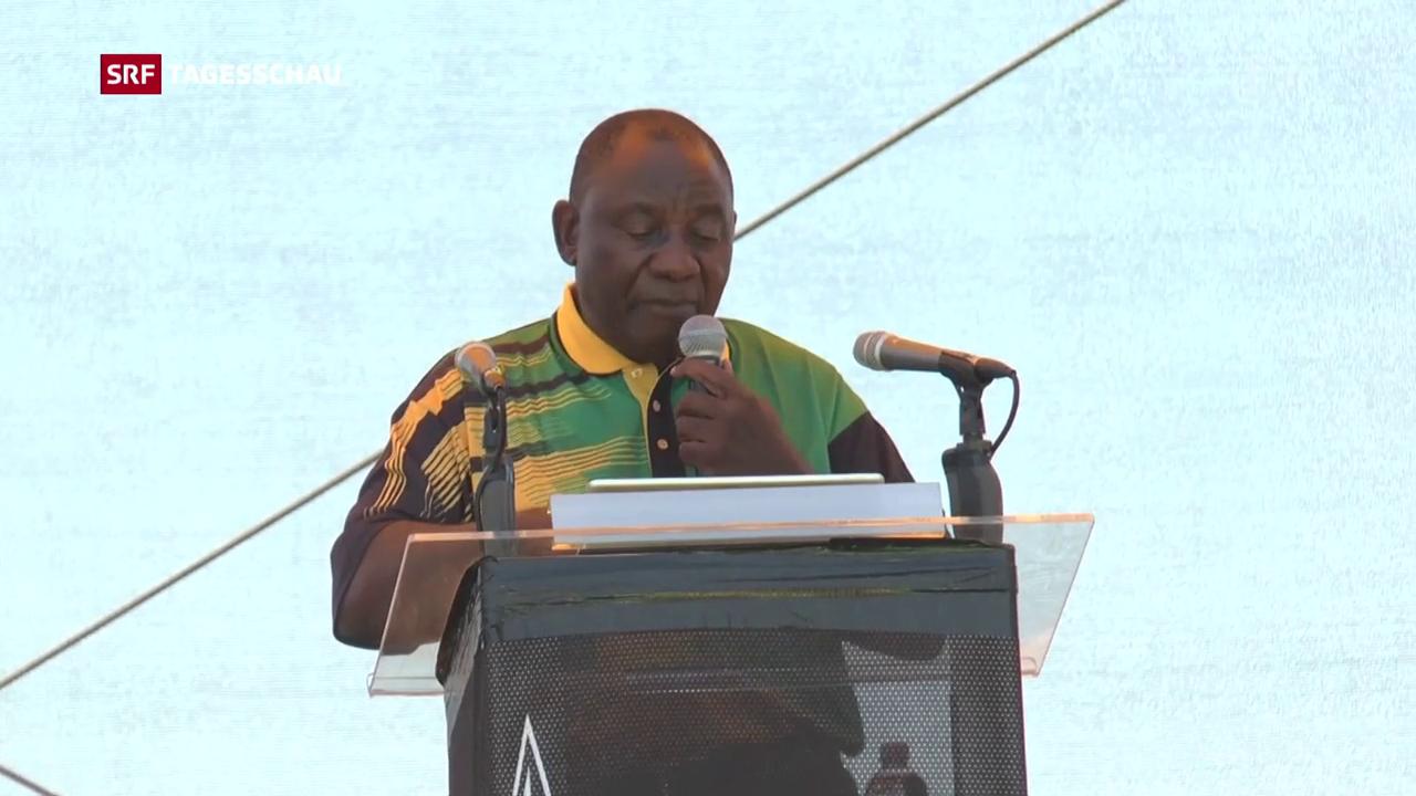 Cyril Ramaphosa neuer Präsident Südafrikas