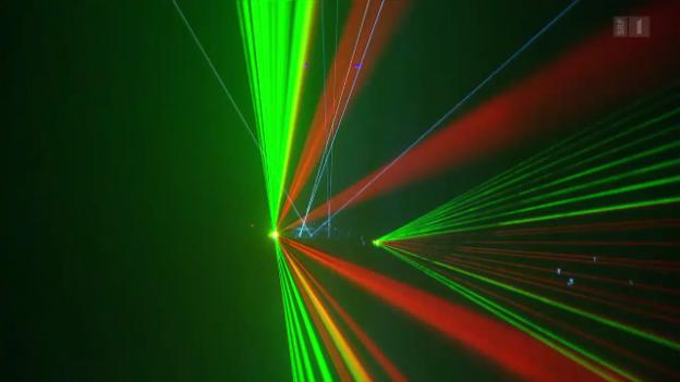 Video «Gefährliche Lasershows» abspielen