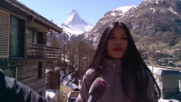 Video «Der Beschluss nach Zermatt zu ziehen» abspielen