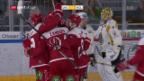 Video «Eishockey: Lausanne - Lugano» abspielen