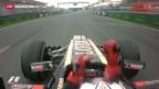 Video «GP von Australien: Räikkönen gewinnt» abspielen