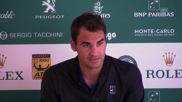 Video «Roger Federer nach der Niederlage gegen Tsonga» abspielen