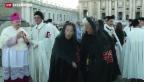 Video «Ordensritter: Audienz beim Papst» abspielen