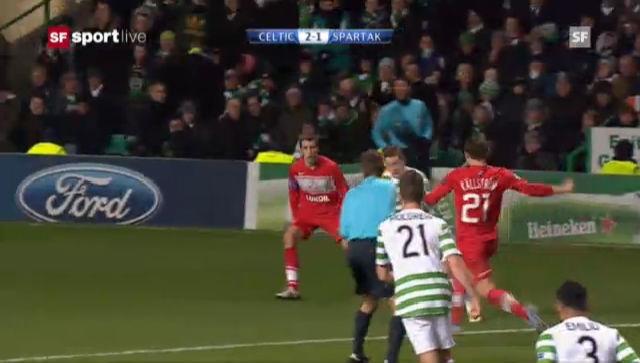 CL: Celtic Glasgow - Spartak Moskau