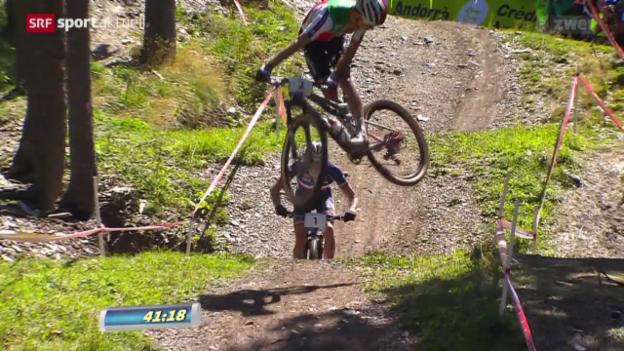 Video «Mountainbike: Cross Country Männer» abspielen