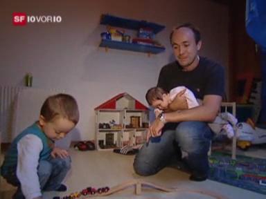 Video «Bund baut Vaterschaftsurlaub aus» abspielen