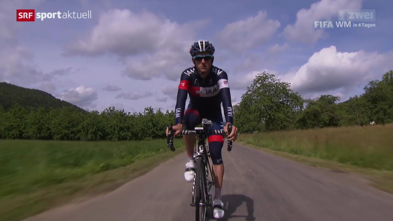 Rad: Mathias Frank vor der Tour de Suisse