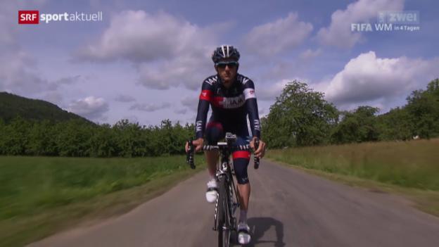 Video «Rad: Mathias Frank vor der Tour de Suisse» abspielen