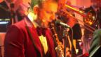 Video «Musischer Moderator: Rainer Maria Salzgeber an der Klarinette» abspielen