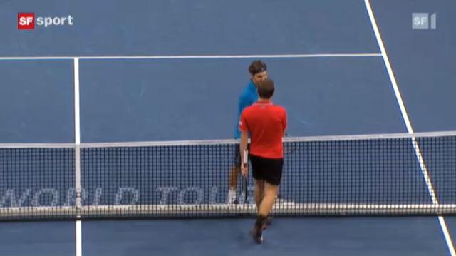 Tennis: Federer - Wawrinka