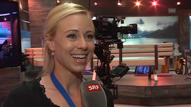 Nicole Berchtold vor der ersten «Alperöösli»-Sendung