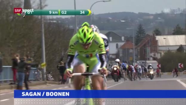 Video «Rad: Sagan verzichtet auf Paris-Roubaix («sportaktuell»)» abspielen