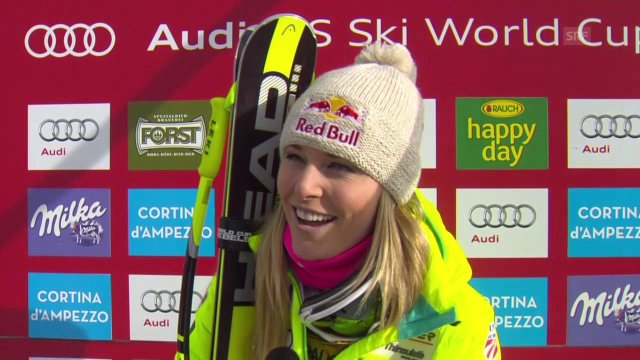 Ski Alpin: Lindsey Vonn im Interview (englisch)