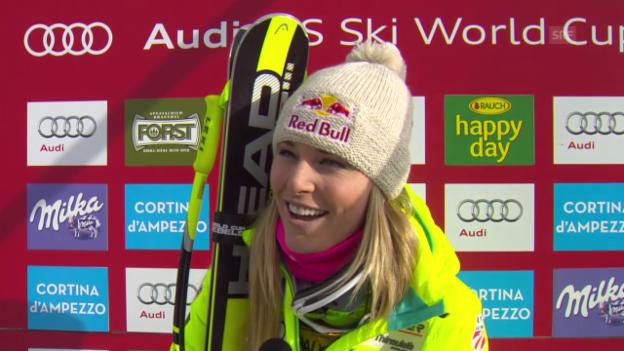 Video «Ski Alpin: Lindsey Vonn im Interview (englisch)» abspielen