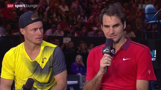 Video ««Tscheggsch de Pögg» – Wie sieht die Zukunft des Tennis aus?» abspielen