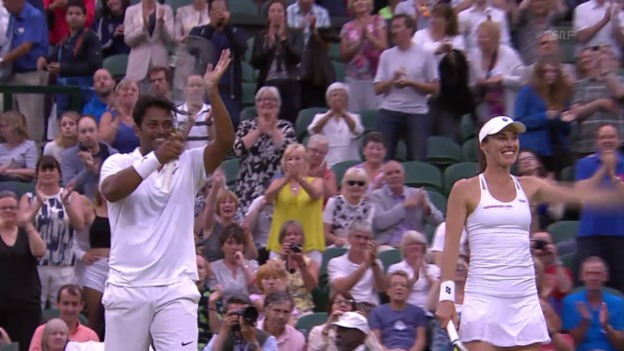 Video «Tennis: Wimbledon 2015, Mixed-Final» abspielen