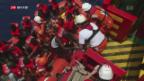 Video «FOKUS: Spendeneinbruch bei Hilfsorganisationen für Flüchtlinge» abspielen