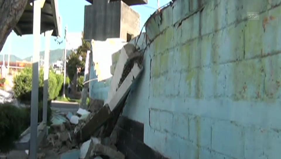 Starkes Beben im Grenzgebiet von Mexiko und Guatemala