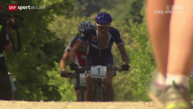Video «Mountainbike: EM Cross Country in St.Wendel» abspielen