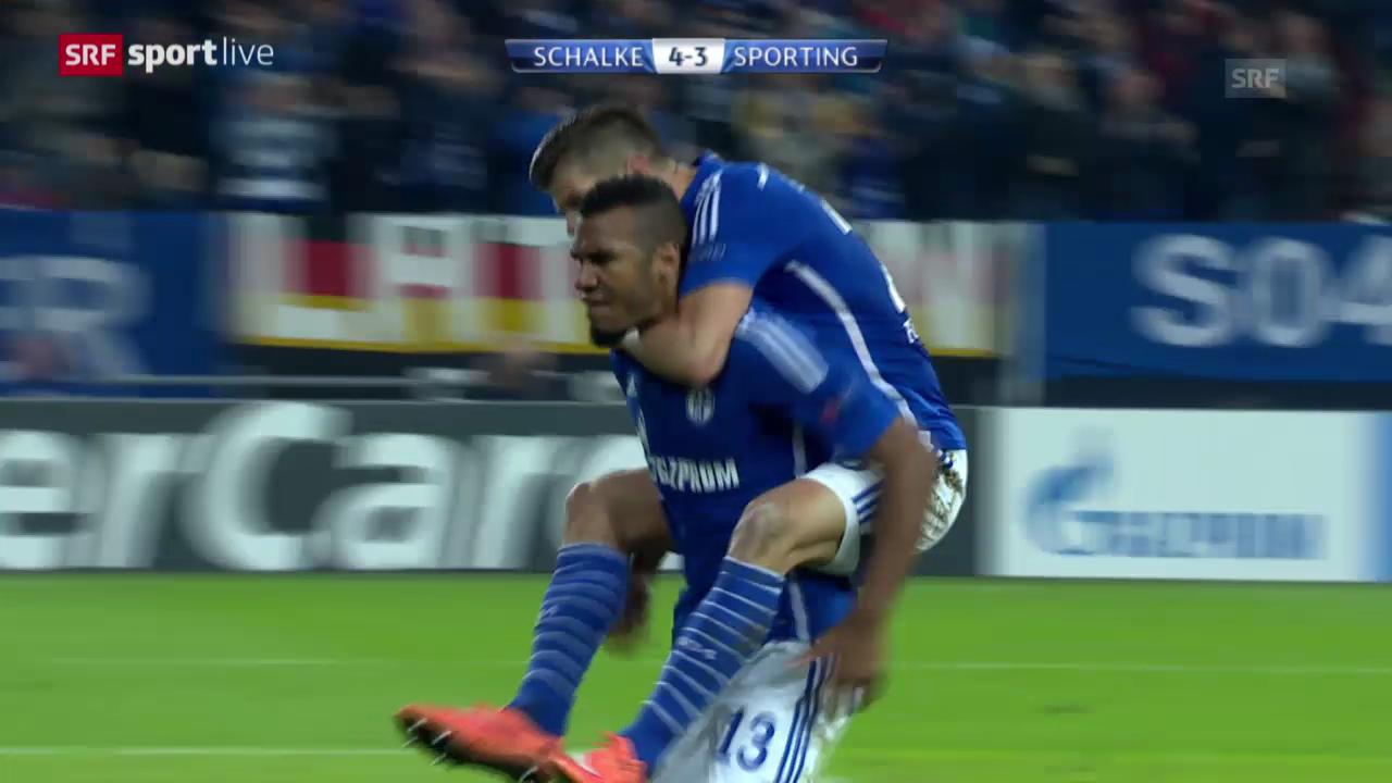 Fussball: Champions-League, Schalke 04 - Sporting Lissabon