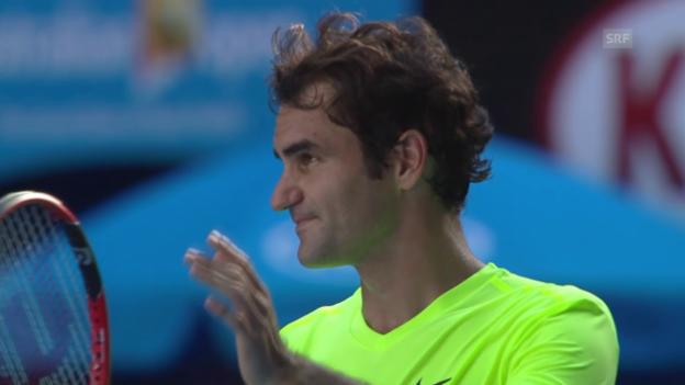 Video «Keine leichten Aufgaben für Federer und Wawrinka» abspielen