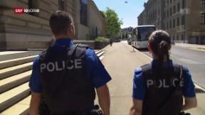 Video «Zürcher Polizisten sollen weiterhin Body-Cams tragen» abspielen