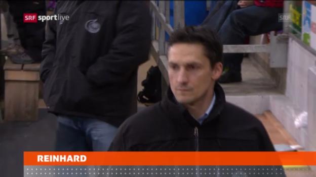 Video «Eishockey: Reinhard in Langnau entlassen» abspielen