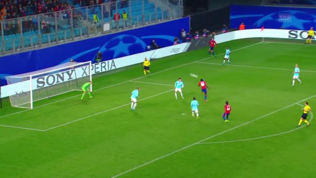 Video «Fussball: CL, Tor Seydou Doubia, ZSKA Moskau-Eindhoven» abspielen