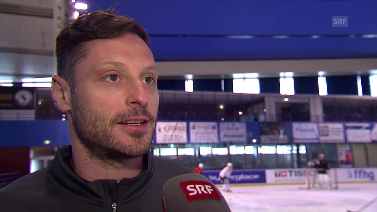 Eishockey: Im Vorfeld der WM 2015 in Tschechien, Interview mit Mark Streit