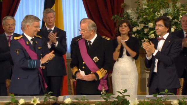 Emotionale Abdankungsfeier von Albert II.