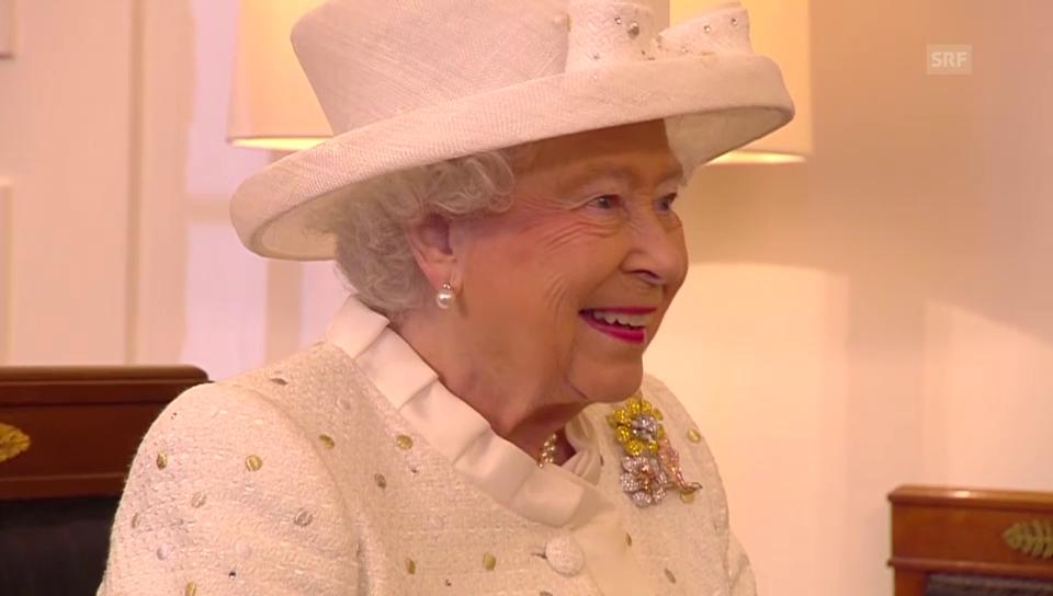 Gastgeschenk: Ein Pferdebild für die Königin (unkommentiert)
