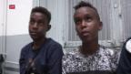 Video «Unterstützung der Grenzwachtkorps durch Drohnen» abspielen
