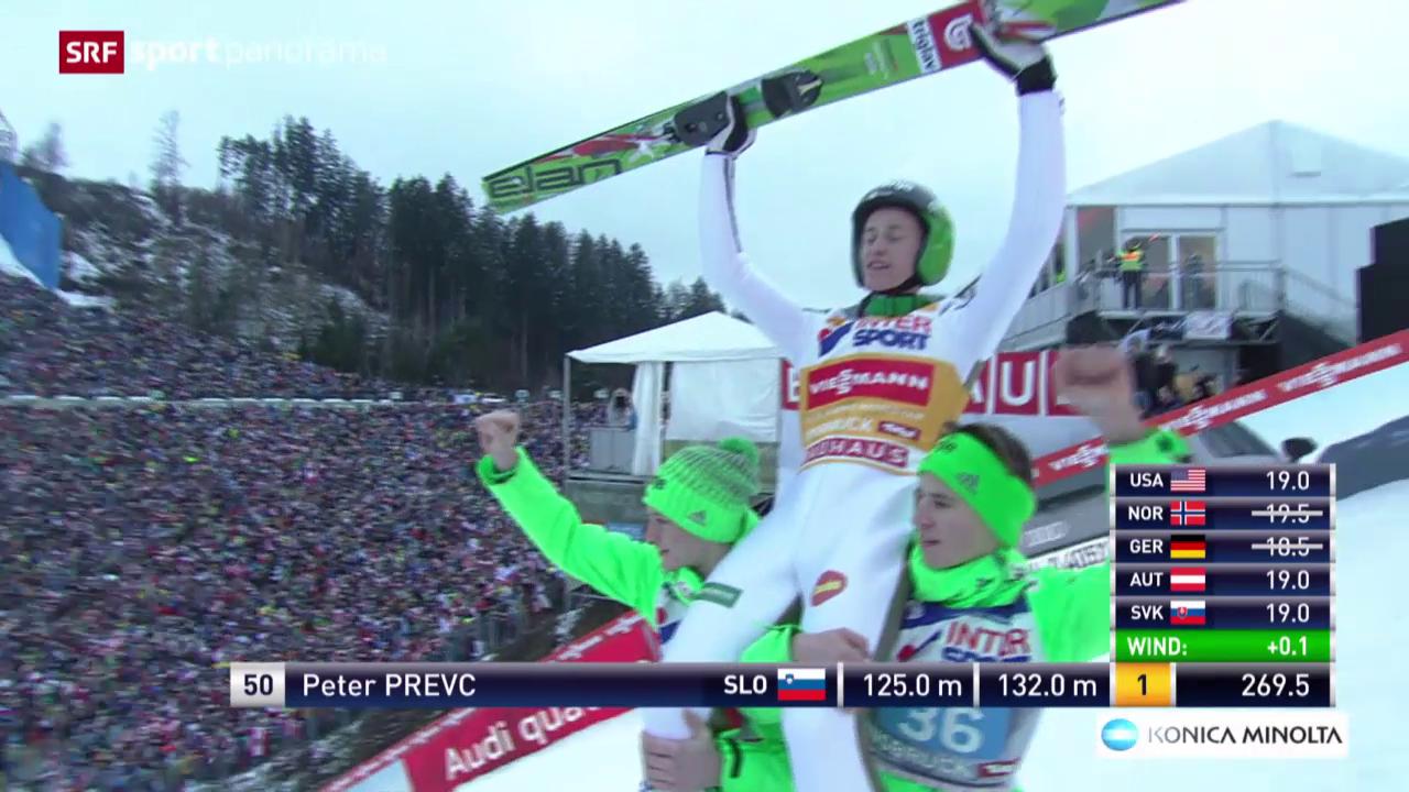 Skispringen: Vierschanzentournee in Innsbruck