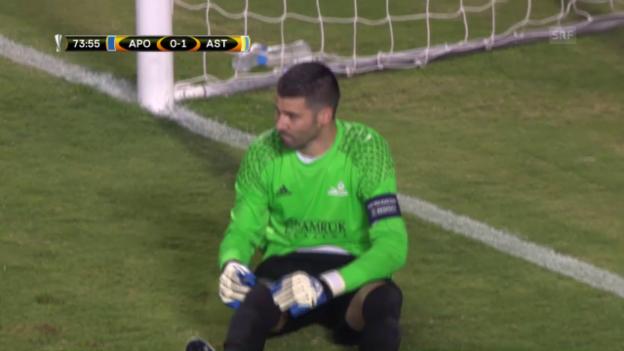 Video «Zusammenfassung APOEL - Astana» abspielen