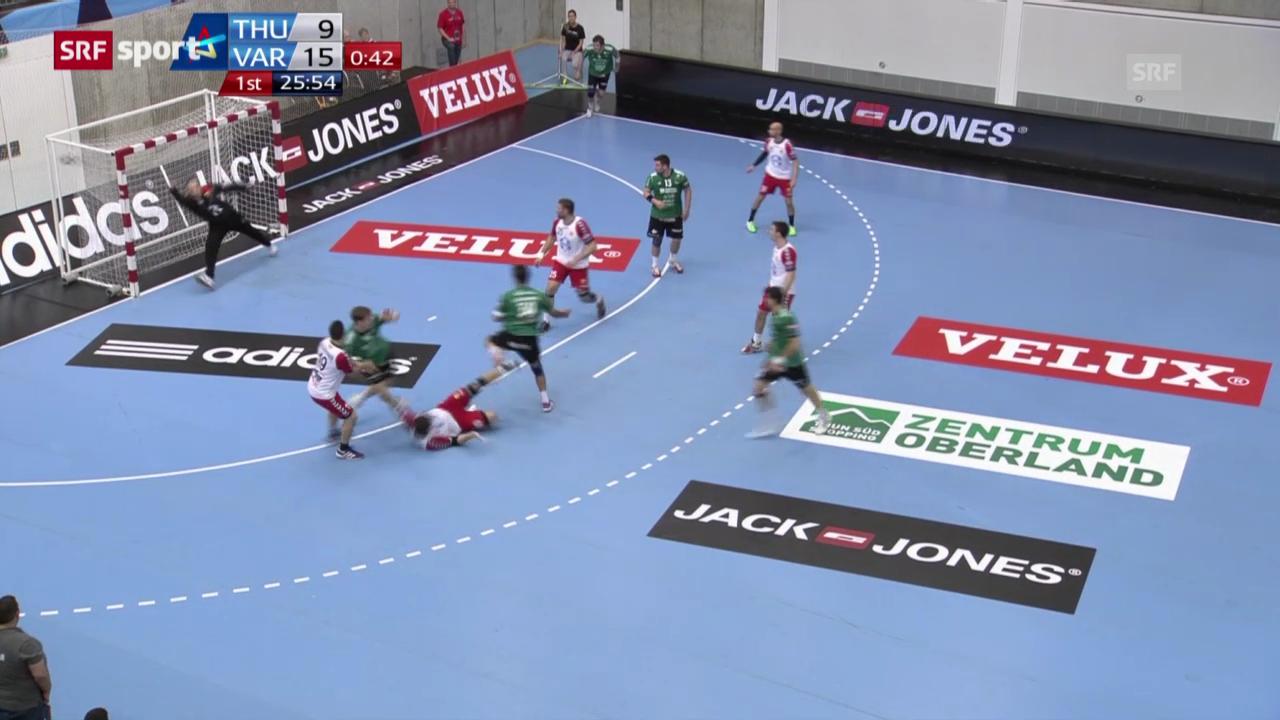 Handball: Wacker Thun - Vardar Skopje