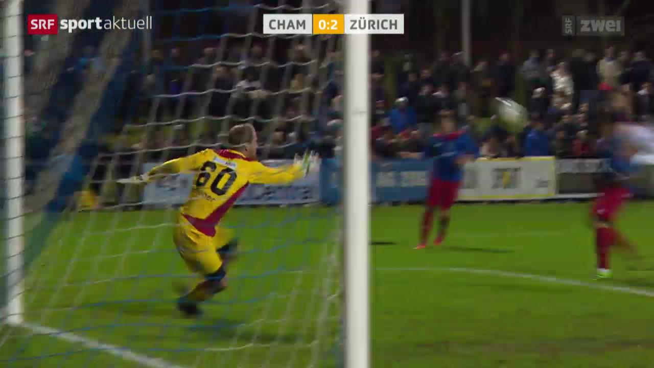 Fussball: Cup-Achtelfinal, Cham - FCZ