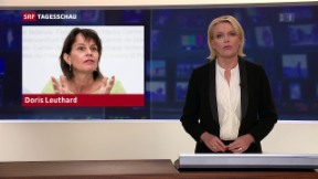Video «Leuthard fordert Untersuchung zum Postauto-Skandal» abspielen