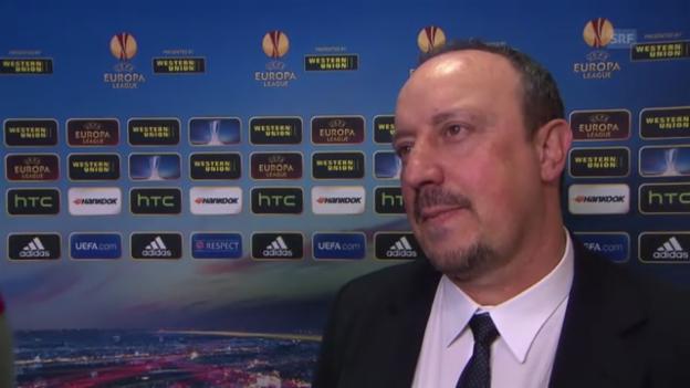 Video «Interview mit Rafael Benitez» abspielen