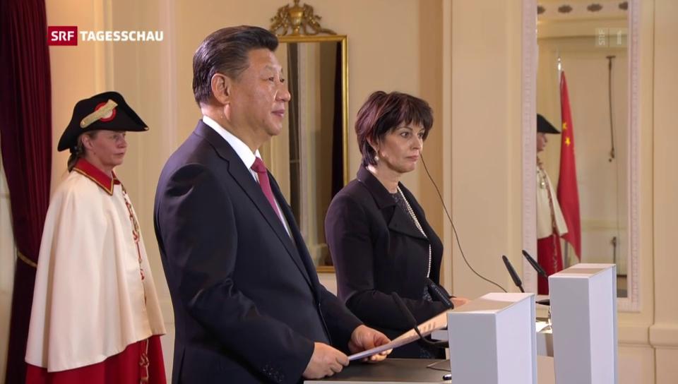 China und Schweiz bekräftigen Zusammenarbeit
