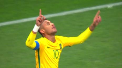 Video «Neymars Freistoss zum 1:0» abspielen